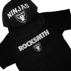 Ensemble Tee+Cap Rocksmith Ninja 1 - Black
