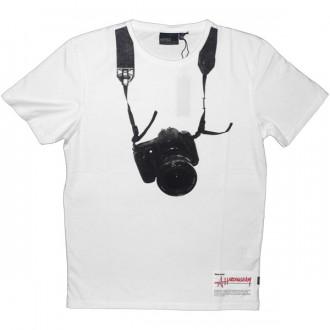 Wesc T-Shirt - Andrew Hardingham - White