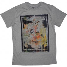 T-shirt Obey - Short Sleeve Knit - Andre Splat - Sage