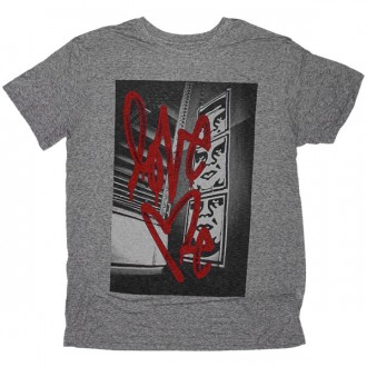 T-shirt Obey - Nubby Thrift Tees - Love Me 01 - Heather Grey