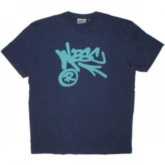 WESC T-shirt - Wesc Arrow - Medium Blue