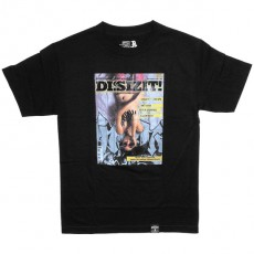 T-shirt Dissizit! - For Men Tee - Black