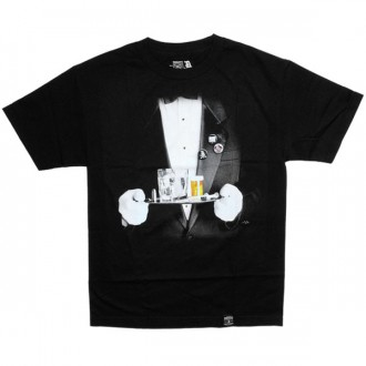 T-shirt Dissizit! - Cheerio Tee - Black