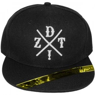 Casquette Snapback Dissizit! - DZT Crossing - Black