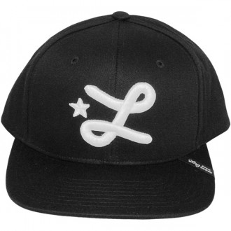 Casquette Snapback LRG - Core Collection Snapback Hat - Black