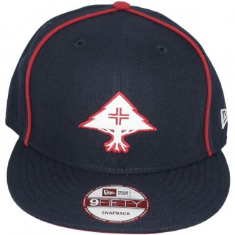 Casquette Snapback LRG x New Era - 9Fifty Core Collection Hat - Navy Blue