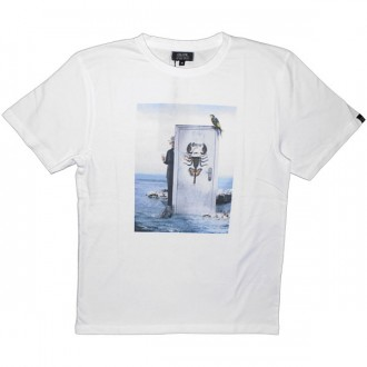 T-shirt Olow - The Door - White