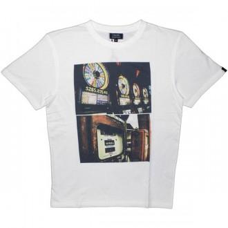 T-shirt Olow - Money - White