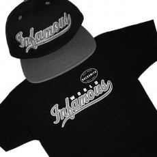 Ensemble Tee+Cap Rocksmith Infamous - Black