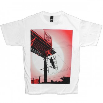 T-shirt Obey - Basic Tee - Shepard Billboard - White