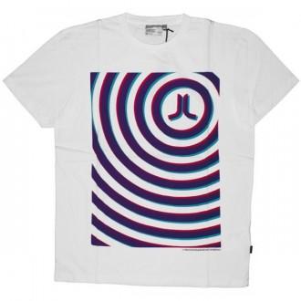 WESC T-shirt - Icon Psychadelic Circles - White