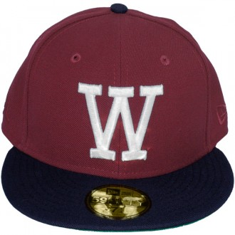 Casquette Fitted Wesc x New Era - 59Fifty W - Biking Red