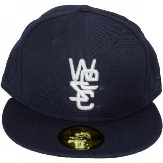 Casquette Fitted Wesc x New Era - 59Fifty Overlay Wool Solid - Medium Blue
