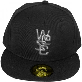 Casquette Fitted Wesc x New Era - 59Fifty Overlay Wool Solid - Black