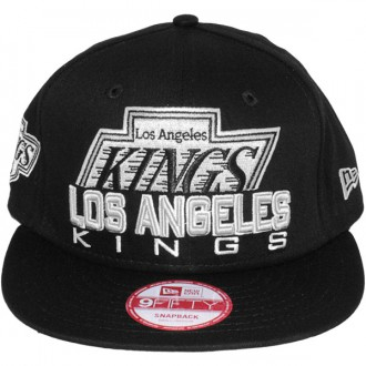 Casquette Snapback New Era - 9Fifty NHL Retro Chop - Los Angeles Kings