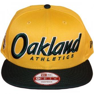 Casquette Snapback New Era - 9Fifty MLB Snapitback - Oakland Athletics