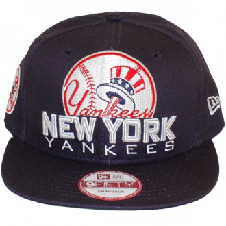 Casquette Snapback New Era - 9Fifty MLB Retro Chop - New York Yankees