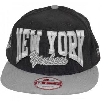 Casquette Snapback New Era - 9Fifty MLB Retro Cord - New York Yankees