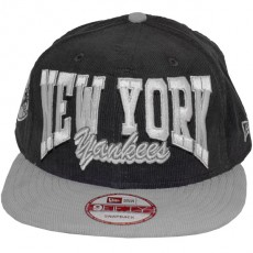 Casquette Snapback New Era - 9Fifty MLB Retro Cord - New York Yankees
