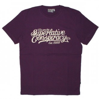 WESC T-shirt - Baseball Conspiracy - Purple Passion