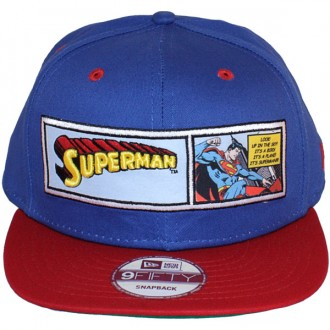 Casquette Snapback New Era - 9Fifty DC Comics - Superman