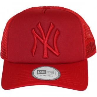 Casquette Trucker New Era - 9Forty MLB Tonal Clean Trucker - New York Yankees - Red