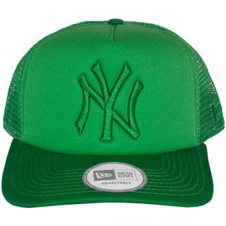 Casquette Trucker New Era - 9Forty MLB Tonal Clean Trucker - New York Yankees - Kelly Green