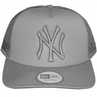 Casquette Trucker New Era - 9Forty MLB Tonal Clean Trucker - New York Yankees - Grey