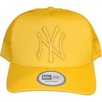 Casquette Trucker New Era - 9Forty MLB Tonal Clean Trucker - New York Yankees - Gold