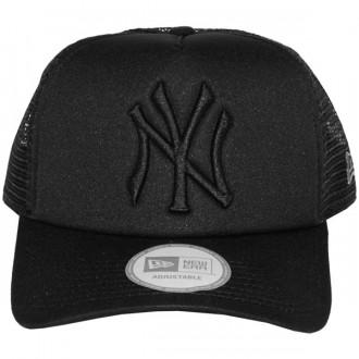 Casquette Trucker New Era - 9Forty MLB Tonal Clean Trucker - New York Yankees - Black