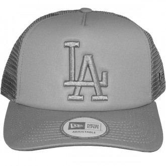 Casquette Trucker New Era - 9Forty MLB Tonal Clean Trucker - Los Angeles Dodgers - Grey