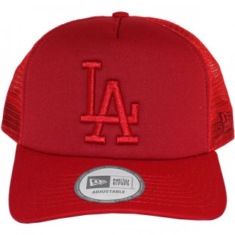 d0512c1199f9 Casquette Trucker New Era - 9Forty MLB Tonal Clean Trucker - Los Angeles  Dodgers - Red