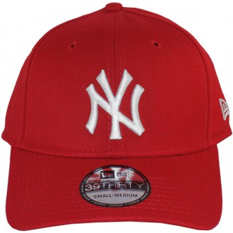 Casquette Trucker New Era - 39Thirty Stretch Fit MLB League Basic - New York Yankees - Red