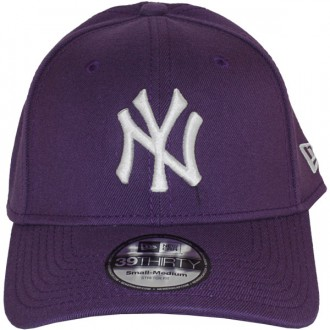Casquette Trucker New Era - 39Thirty Stretch Fit MLB League Basic - New York Yankees - Purple