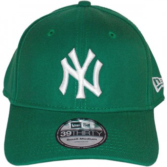 Casquette Trucker New Era - 39Thirty Stretch Fit MLB League Basic - New York Yankees - Kelly Green