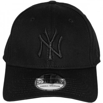 Casquette Trucker New Era - 39Thirty Stretch Fit MLB League Basic - New York Yankees - Black