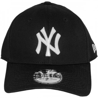 Casquette Trucker New Era - 39Thirty Stretch Fit MLB League Basic - New York Yankees - Black/White