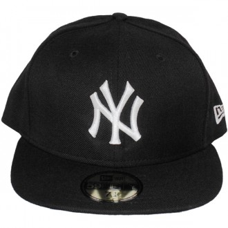 Casquette Fitted New Era - 59Fifty MLB Basic - New York Yankees - Black/White