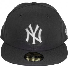 Casquette Fitted New Era - 59Fifty MLB Basic - New York Yankees - Dark Grey/White