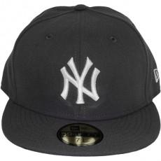 Casquette Fitted New Era - 59Fifty MLB Basic - New York Yankees - Dark Grey/White