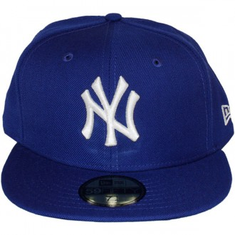 Casquette Fitted New Era - 59Fifty MLB Basic - New York Yankees - Royal Blue/White
