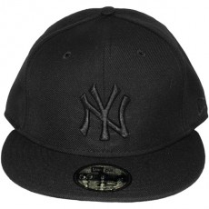 Casquette Fitted New Era - 59Fifty MLB Basic - New York Yankees - Black On Black