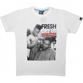 T-shirt Space Monkeys - Fresh Tee - White