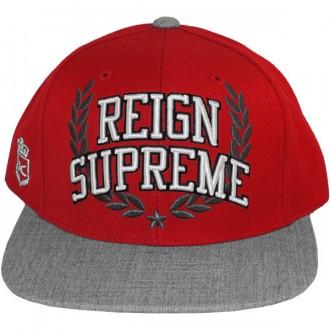 Casquette Snapback King Apparel x Starter - Reign Supreme Starter Snapback - Red/Grey