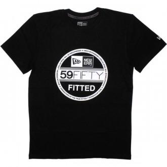 T-shirt New Era - Basic Visor Tee - Black/White