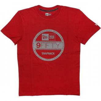 T-shirt New Era - Illusion Visor Tee - Red