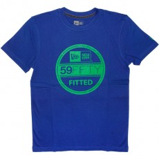T-shirt New Era - Basic Visor Tee - Royal Blue/Kelly Green