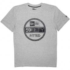 T-shirt New Era - Basic Visor Tee - Heather/Black