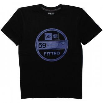T-shirt New Era - Basic Visor Tee - Black/Royal Blue