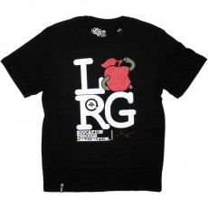 T-shirt LRG - Apple Eater Tee - Black